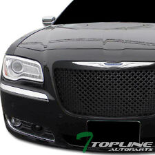 FOR 2011-2014 CHRYSLER 300 300C BLK BENTLEY MESH STYLE FRONT CENTER GRILL GRILLE
