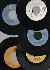 "JOHNNY LEE LOT OF 5 VG++/-NM STOCK 7"" 45rpm 1980's SINGLES COUNTRY-ROCK BOOGIE"