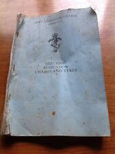 Vintage Amry Apprentices College Arborfield Booklet Course Details Militaria