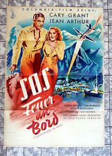 S.O.S - FEUER AN BORD * CARY GRANT - A1-FILMPOSTER - Only Angels have Wings 1950