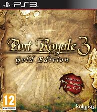 Port Royale 3-Gold Edition per PAL ps3 (nuovo e sigillato)