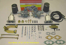 VW Weber Carb kit - Beetle(&Super), Dune Buggy, Trike, Type 1 Dual 34 ICT Webers