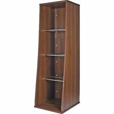 "Sefour RS300 12"" LP Vinyl Storage Unit 300 (tobacco walnut)"