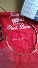 Jewels by Park Lane new goldtone wrap-around necklace 18 inches Vintage New$62