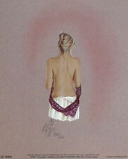 "KAY BOYCE ""Sophie"" nude woman dress SIGNED LIMITED ED! SIZE:36cm x 29cm NEW RARE"