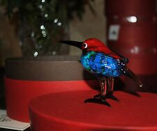 NEW FITZ & FLOYD GLASS MENAGERIE MIRNA Figurine Ltd Gift BOX BLUE BIRD