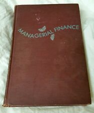 Managerial finance, Book, Weston, J. Fred