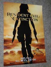 RESIDENT EVIL EXTINCTION 27x40 INTERNATIONAL ORIGINAL D/S MOVIE POSTER