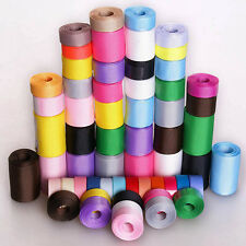 "60YDS mixed 60 style 3/8""~1.5"" PLAIN scrapbooking hairbow grosgrain ribbon lots"