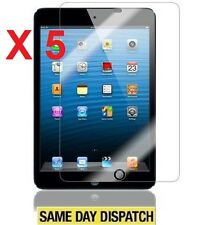 5 X APPLE iPad MINI 2 RETINA Clear LCD Screen Protectors Cover Film Skin & Cloth