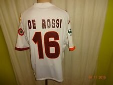 "AS Rom Kappa Auswärts Trikot 2007/08 ""WIND"" + Nr.16 DE ROSSI Gr.L- XL TOP"