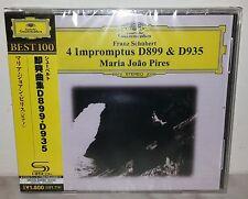 SHM-CD FRANZ SCHUBERT - 4 IMPROMPTUS D899 D935 - PIRES - JAPAN UCCG-50095