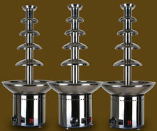"5 Tiers Stainless Party  Hotel Commercial 27"" Chocolate Fountain Free shipping"