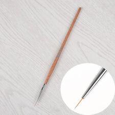 Nail Art Liner Brush Ultra-thin Line Drawing Pen Wooden Handle Manicure Tool