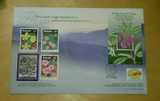 Royal Selangor Pewter Stamp FDC - 2000 Highland Flowers of Malaysia Flora