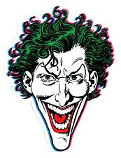 Almost Skateboards Skateboard Superheros Sticker - Joker skateboarding skate