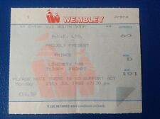 PRINCE - 25th JULY 1988 - WEMBLEY ARENA -  LOVESEXY TOUR CONCERT TICKET