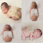 Newborn Baby Leaf Golden Angel Wings Costume Photo Photography Prop Outfits
