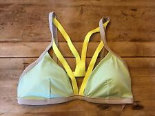 Mint Colorblock~LARGE~Victoria's Secret STRAPPY TRIANGLE Swimsuit Bikini Top!