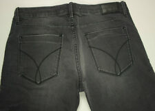 EUC - AS NEW - RRP $299- Mens/Boys CK CALVIN KLEIN 'BOY SLIM' Black Smoked Jeans