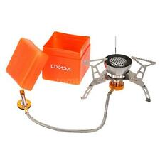 Mini Backpacking Outdoor Gas Butane Propane Canister Camp Stove Burner Y0I9