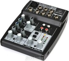 NEW Behringer XENYX 502 5-Channel Compact Audio Mixer