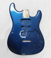 EDEN Paulownia Wood Body Replacement HSH for Strat Guitar Sapphire Blue