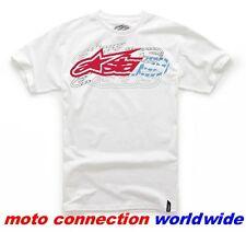 ALPINE STARS classico su OFF T-Camicia T-Shirt Bianco Taglia Large adulto