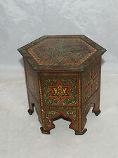 ANTIQUE ADVERTISING HUNTLEY & PALMERS BISCUIT TIN CAIRO TABLE ARABIAN DESIGN