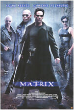 Matrix - original movie poster 27x40 - Video Release - 1999 Keanu Reeves