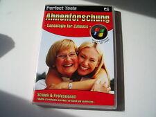 Ahnenforschung  -  Genealogie für Zuhause   (PC)  Neuware