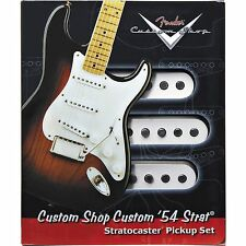New Fender Custom Shop '54 Strat Pickup Set of 3 USA Made Vintage +Free Gifts