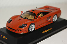 Saleen S7 orange metallic 1:43 Ixo neu & OVP MOC020