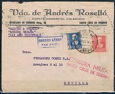 SANTA CRUZ DE TENERIFE A SEVILLA  857 + 860