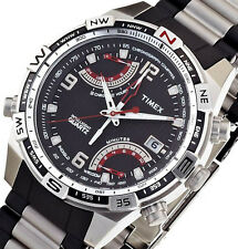 NON-WORKING Timex Men's Intelligent Quartz Fly Back Chrono T49868 PRE-OWNED