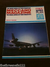 MECCANO MAGAZINE - PLASTIC CONVERSION - JAN 1967 VOL 52 # 1