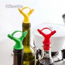 Top Sale Bottle Pourer Spout Stopper Dispenser Liquor Wine Olive Oil Vinegar CUB