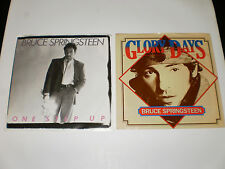 BRUCE SPRINGSTEEN 45 RECORD LOT GLORY DAYS & ONE STEP UP COLUMIBA 1980'S