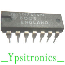SN7414N INTEGRATED CIRCUIT  6 INV.SCHM.TRIGER DIP 14 TEXAS -NEW