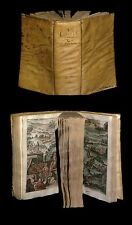 [Reliure vélin BOITEL] HOMERE - L'Odyssée + Histoire de la Prise de Troye. 1638.