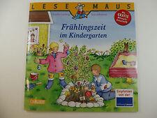 Lesemaus Frülingszeit im Kindergarten