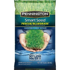 New Smart Seed 3lb. Fescue/Bluegrass Grass Seed Mix Drought Tolerant Thick Grass