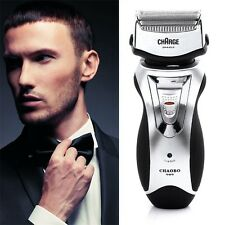 Men's Rechargeable Electric Shaver Double Mesh Blades Razor Groomer US Plug EW