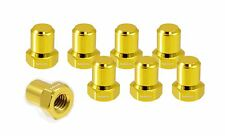 VMS RACING BILLET ALUMINUM GOLD H22 H22A VTEC VALVE COVER NUTS BOLTS HEAD 8 PCS