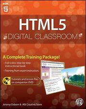 HTML5 Digital Classroom, Book and Video Training