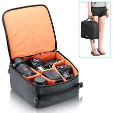 Waterproof Flexible Partition Camera Padded Bag for DSLR Camera and Accessories