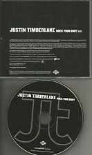 JUSTIN TIMBERLAKE w/ PHARRELL WILLIAMS Rock Your Body PROMO DJ CD single NSYNC