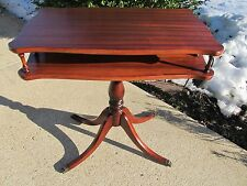 Antique Mahogany Parlor Coffee End Table Brandt