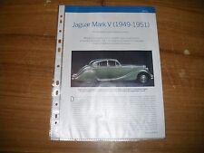 ESSAI PROFIL.......JAGUAR MARK V  (1949 - 1951)