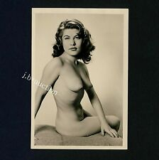 #448 RÖSSLER AKTFOTO / NUDE WOMAN STUDY * Vintage 1950s Studio Photo - no PC !